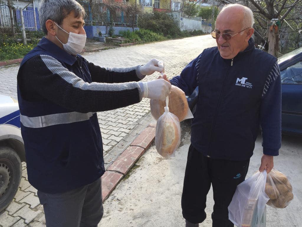 Belediyemizden Koronavirisü'e Karşı Vatandaşlarımıza Alışveriş Desteği Yedi Gün Kesintisiz Devam Ediyor.