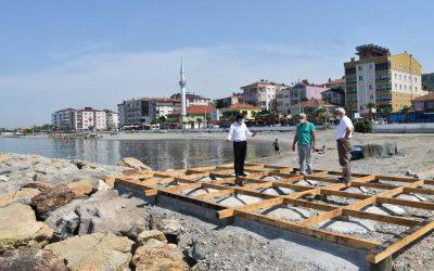 Halk Plajı Çalışmalarımız Devam Ediyor