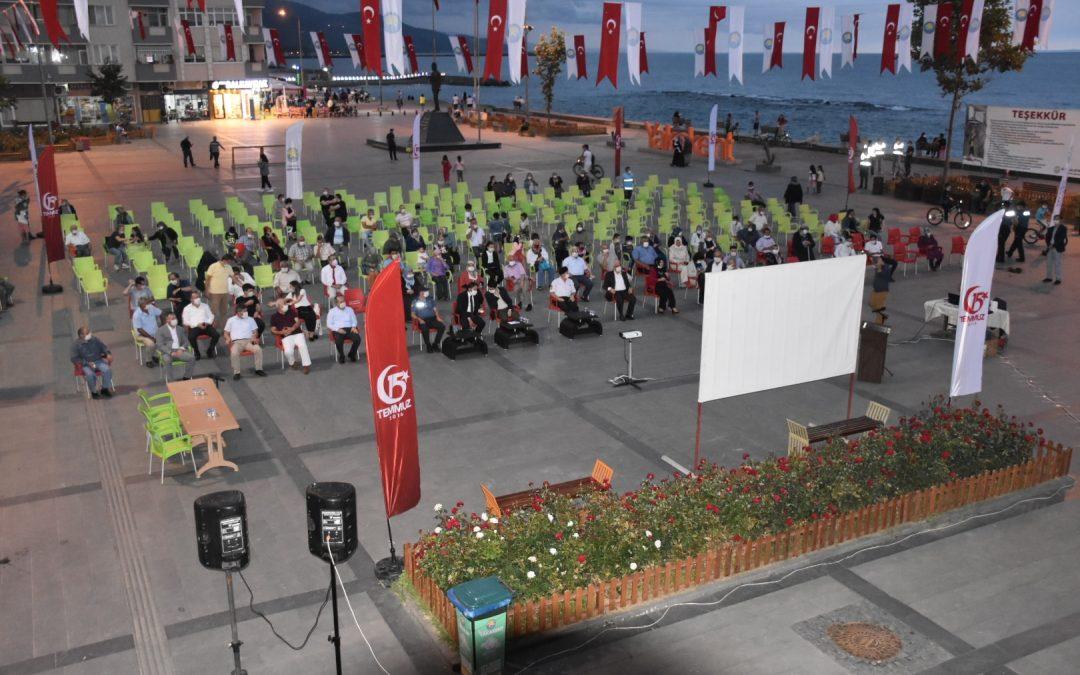 15 Temmuz Demokrasi Ve Milli Birlik Günü'nün 4. Yılında Meydanlardaydık