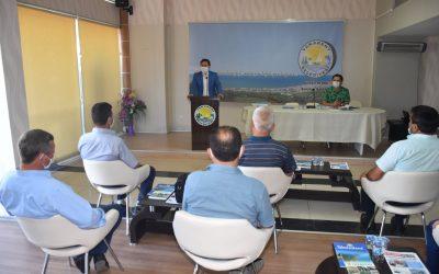 2020 yılı Temmuz ayı Muhtarlar İstişare ve Değerlendirme Toplantısı, Belediyemiz Çözüm Merkezi Toplantı Salonunda Gerçekleştirildi