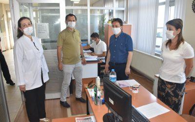 #SağlıkİçinHepimizİçin Sloganı ile 81 İlde Başlatılan Denetimler, Belediye Binamızda da Yapıldı.