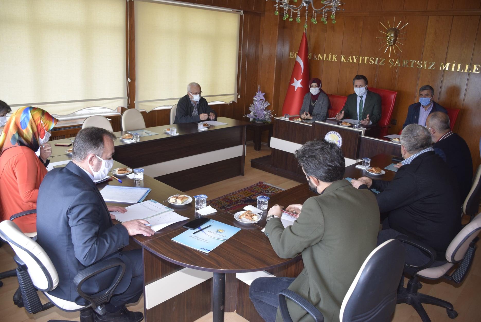 2020 yılı Kasım Ayı Belediye Meclis Toplantısı Yapıldı
