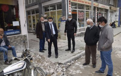 Belediye Başkanımız Hüseyin KIYMA Doğalgaz Çalışmalarını Yerinde İnceledi.