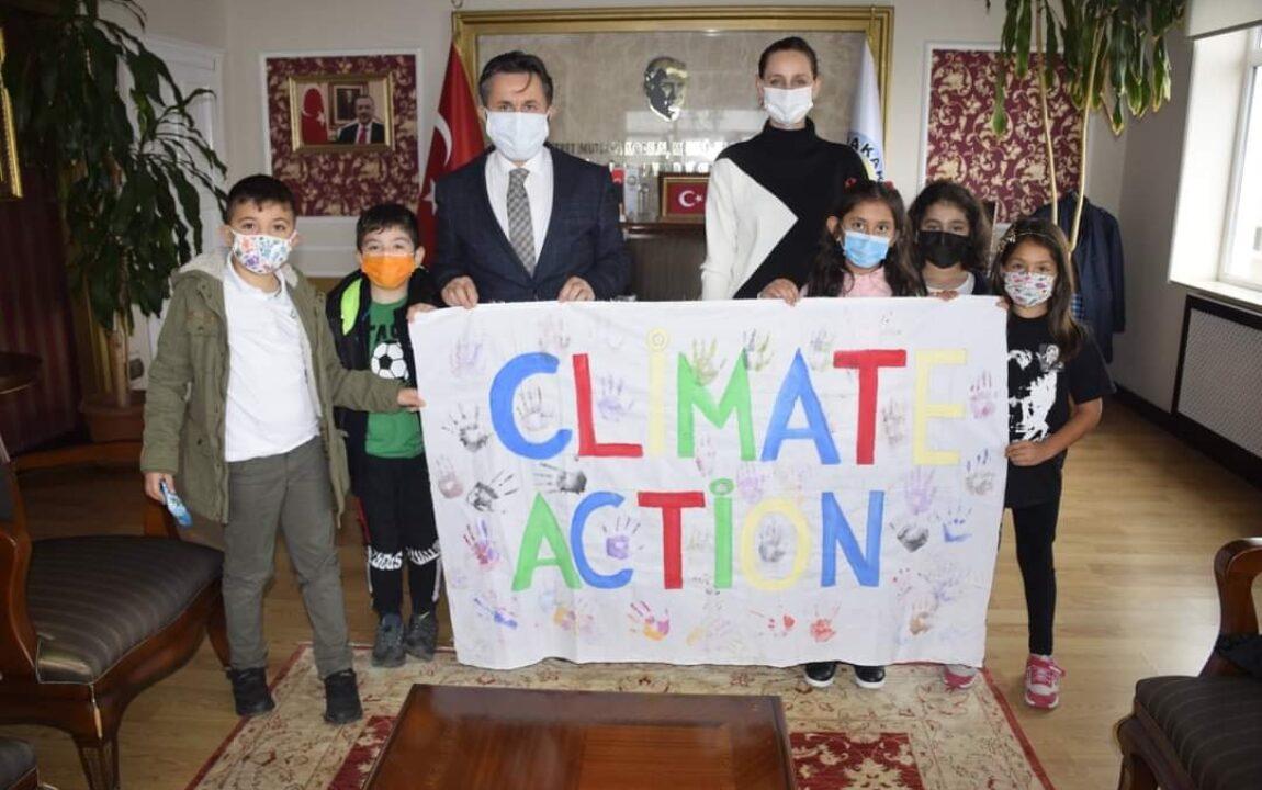 İklim ve Eylem Projesini Destekliyoruz