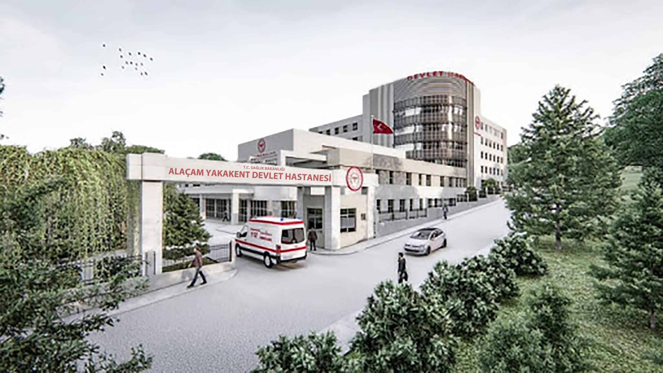 Alaçam Yakakent Devlet Hastanesinin ihalesi 22 Şubat 2021 tarihinde yapılacak