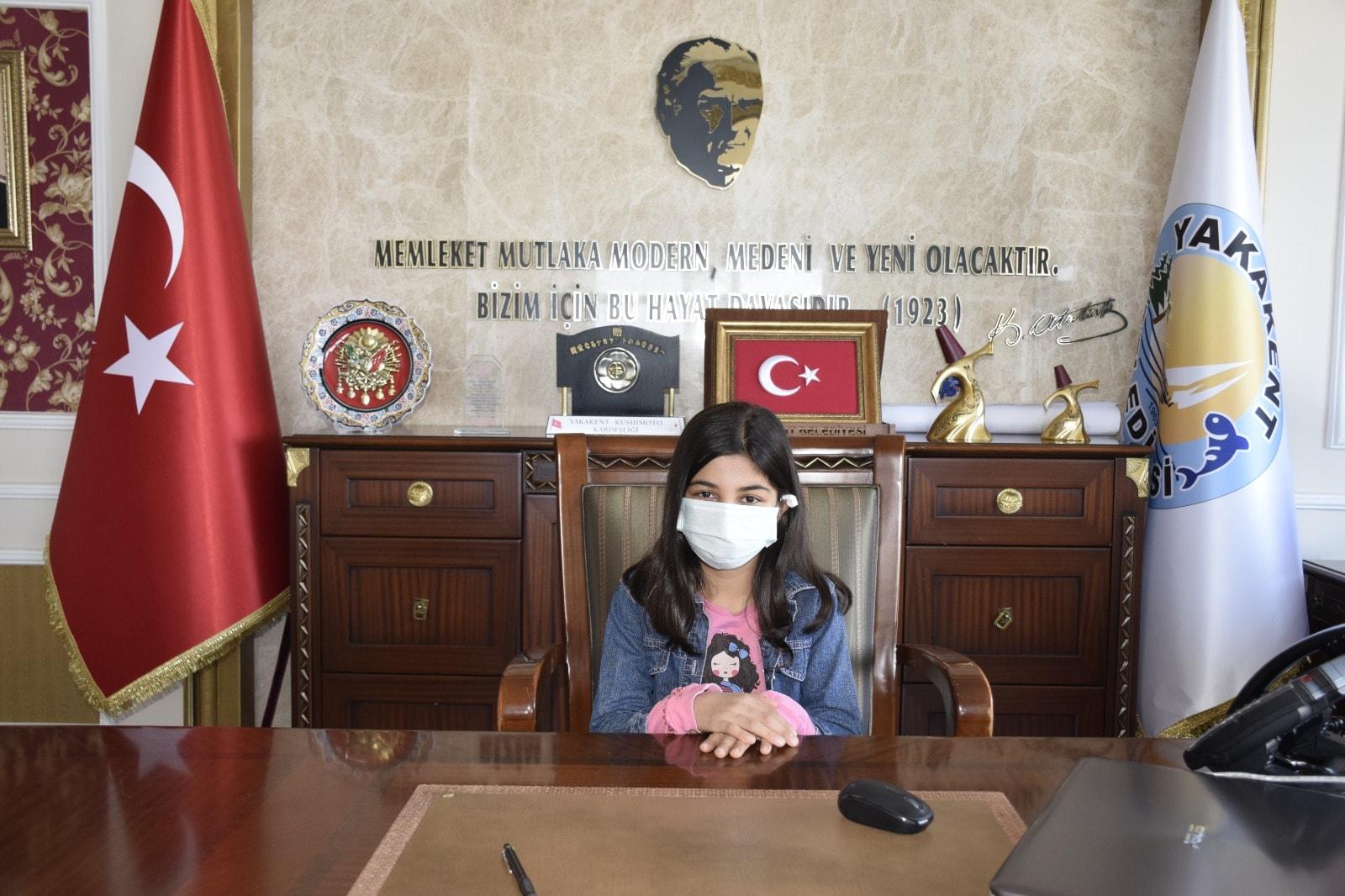 Başkanlık Koltuğunu Zeynep Ağaçdiken Devraldı.
