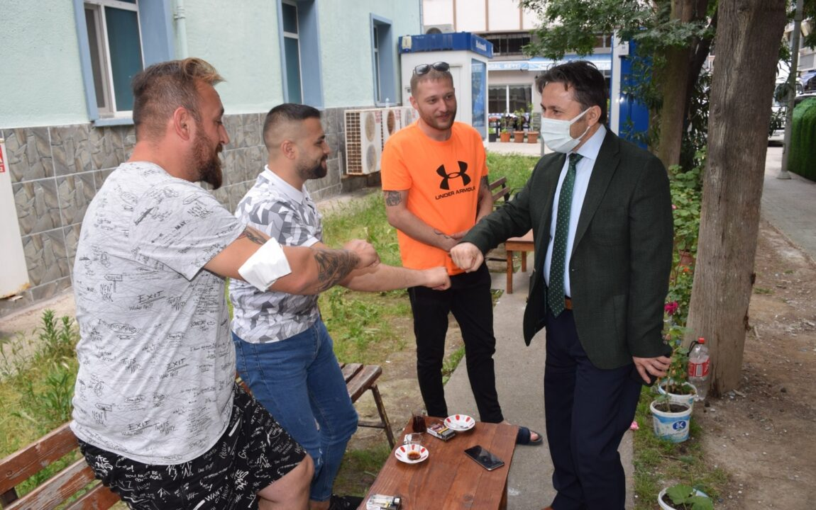 Belediye Başkanımız Hüseyin KIYMA, Esnaf ve Vatandaş Ziyaretlerinde Bulundu.