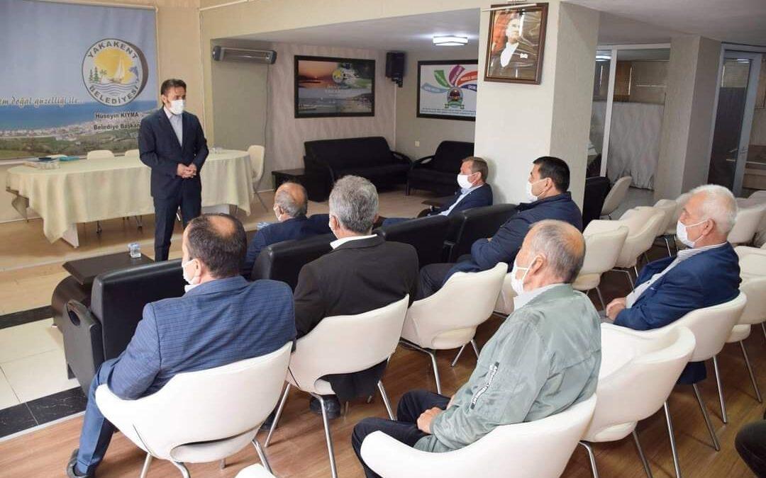 2021 yılı Haziran ayı Muhtarlar İstişare ve Değerlendirme Toplantısı Yapıldı.