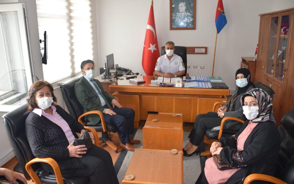 Belediye Başkanımız Hüseyin KIYMA, İlçe Jandarma Komutanlığına Ziyarette Bulundu