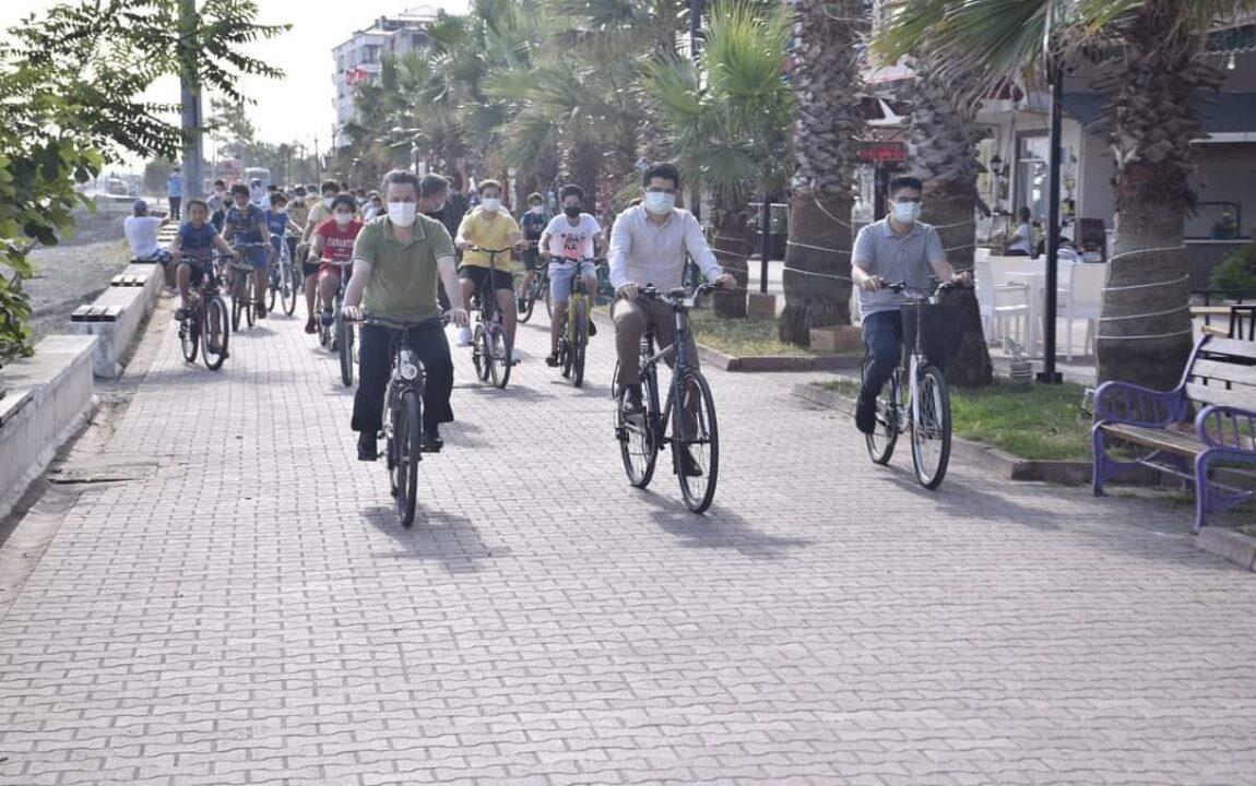 Yakakent'te Bisikler Turu Etkinliği Gerçekleştrildi.