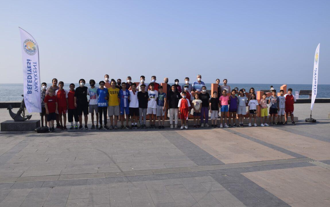 Yakakent Belediyesi Yaz Spor Şenliklerinin İlk Etabı Tamamlandı