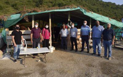 Belediye Başkanımız Hüseyin KIYMA, Hayvan Pazarı Esnafını Ziyaret Etti