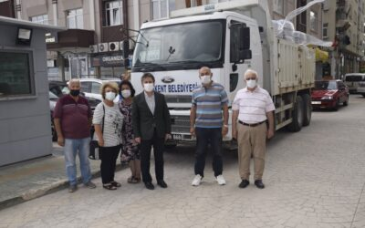 Belediyemiz Sel Afetinden Etkilenen Bölgelere Temel İhtiyaç Malzemeleri Gönderdi.