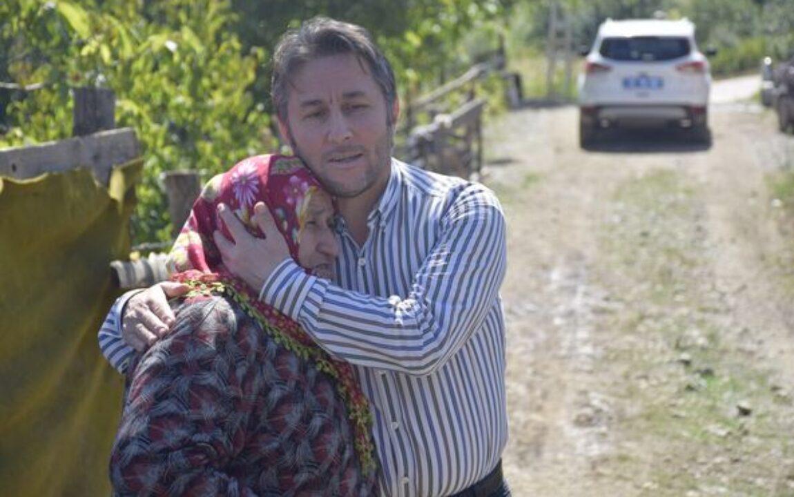 Belediye Başkanımız Hüseyin KIYMA, evi yanan Şehri Türkmen teyzemizi ziyaret etti.