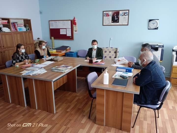 Belediye Başkanımız Hüseyin KIYMA, Yakakent 100. Yıl İlkokuluna Ziyarette Bulundu